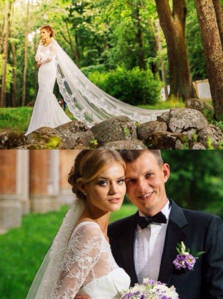 Екатерина Григорьева и муж